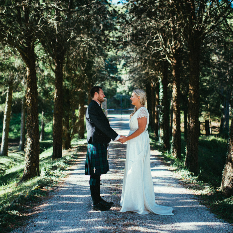 Ross & Jenny | Destination Wedding Umbria Countryside