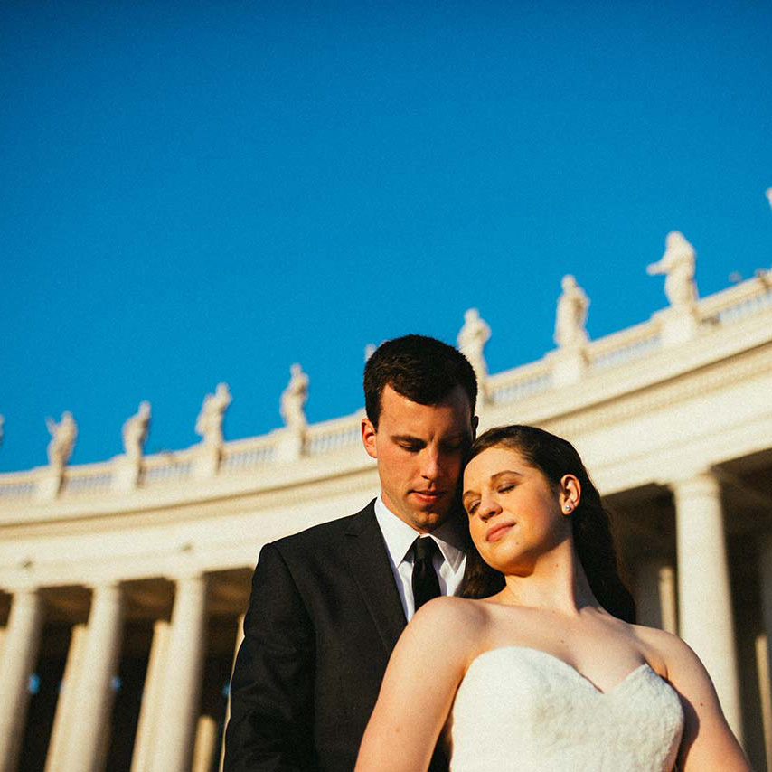Zach & Lauren | Wedding Honeymoon in Rome