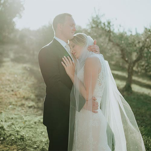 Intimate Destination Wedding in Tuscany – Kelsey & Travis