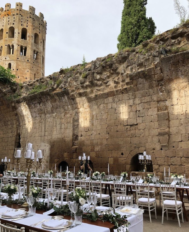 10 of the best wedding venues in Italy - La Badia di Orvieto